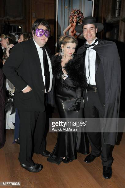 Marshall Heyman Emily Smith and Paul Deleon attend VIP MASKED BALL for Susan G Komen Headlined by Sir Richard Branson Katie Couric Cornelia Guest HM...