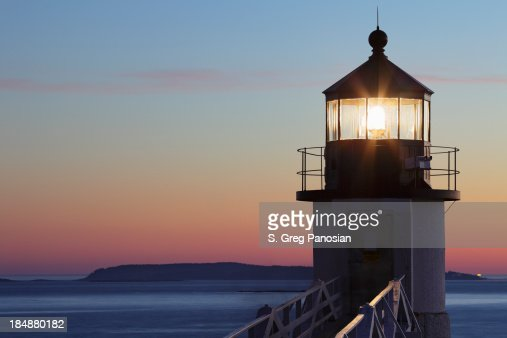 Marshall Point Lighthouse in Port Clyde, Maine
