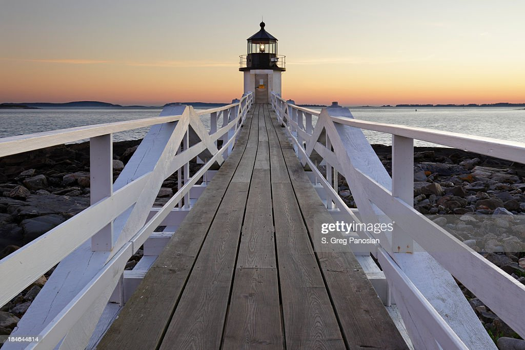 Marshall Point Lighthouse : Stock Photo