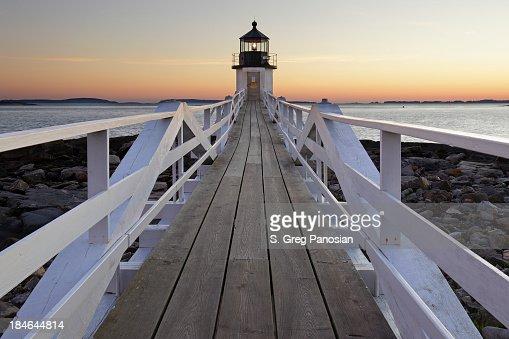 マーシャルポイント灯台