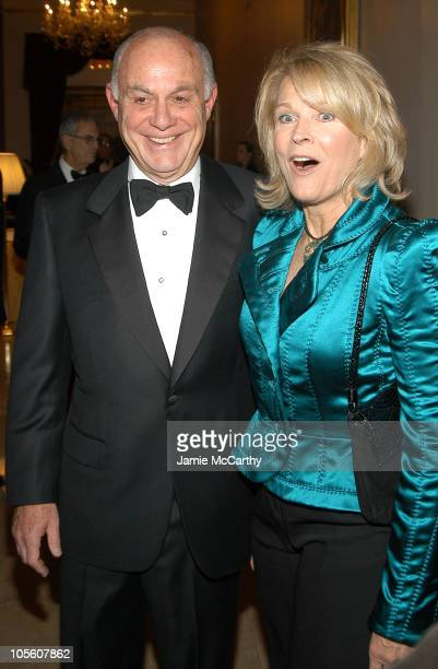 Marshall Rose and Candice Bergen during 11th Annual Living Landmarks Gala at The Plaza Hotel in New York City New York United States