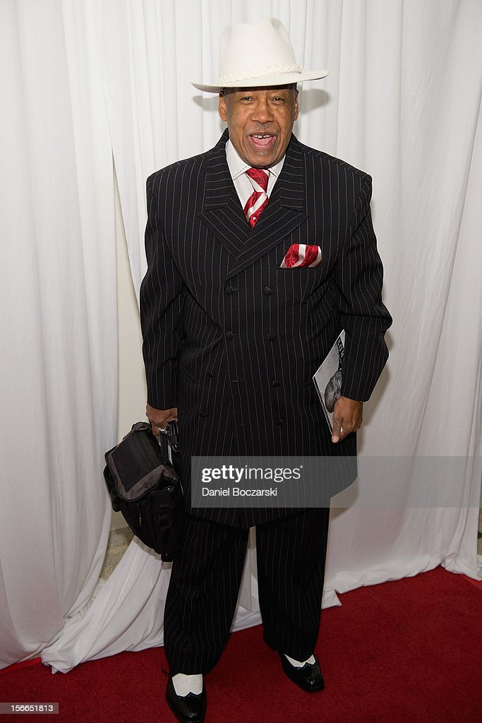 Marshall Thompson of The Chi-Lites attends An Evening with Berry Gordy at the Art Institute Of Chicago on November 17, 2012 in Chicago, Illinois.