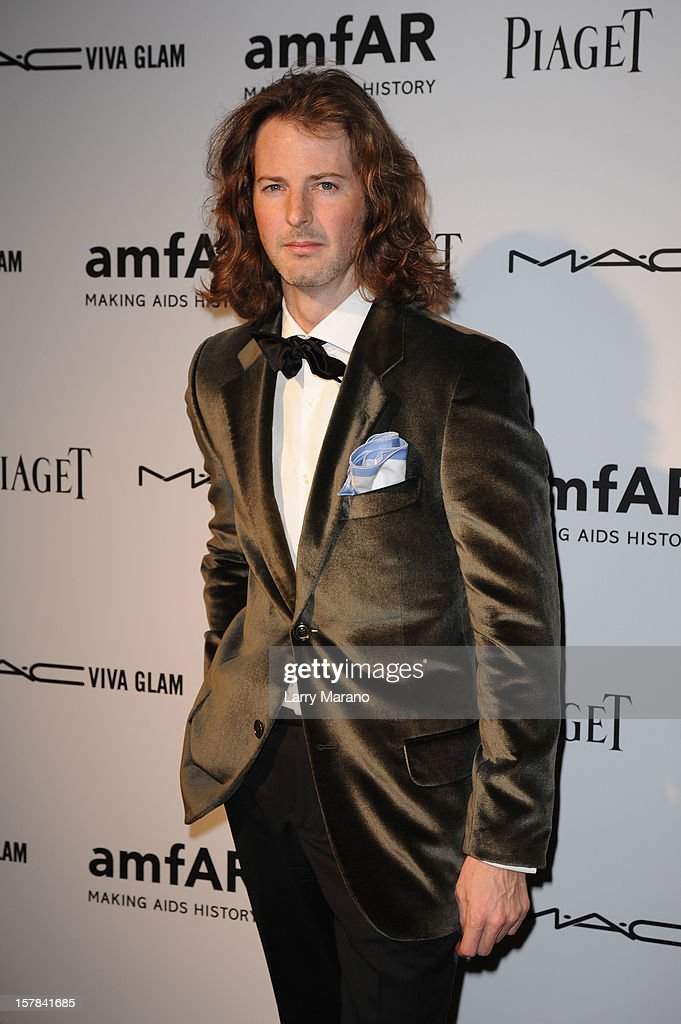 Marshall Winters attends the amfAR Inspiration Miami Beach Party at Soho Beach House on December 6, 2012 in Miami Beach, Florida.