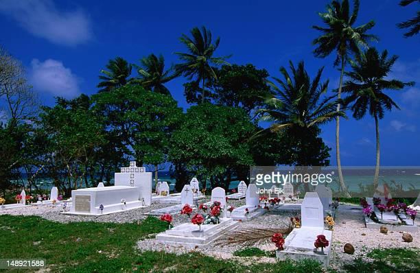 Marshallese Cemetery.