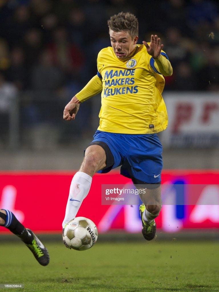 Mart Lieder of RKC Waalwijk during the Dutch Eredivisie match between RKC Waalwijk and SC Heerenveen at the Mandemakers Stadium on february 1, 2013 in Waalwijk, The Netherlands