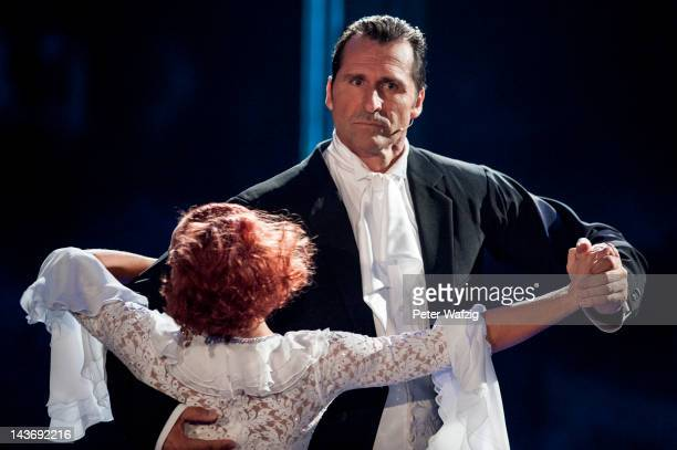 Marta Arndt and Lars Riedel perform during 'Let's Dance' 8th Show at Coloneum on May 02 2012 in Cologne Germany