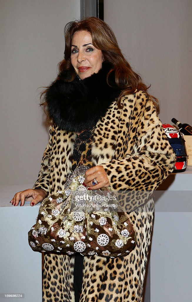 Marta Brivio Sforza attends the Sotheby's charity auction for FFC Onlus on January 23, 2013 in Milan, Italy.