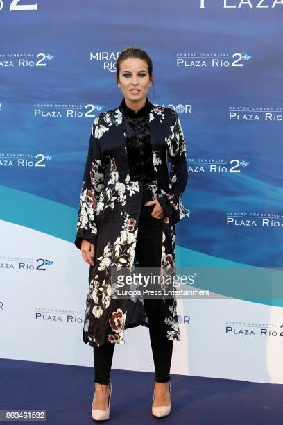 Marta Castro attends the 'Plaza Rio 2' presentation at Plaza Rio 2 mall on October 19 2017 in Madrid Spain