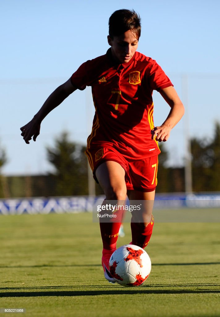 Marta Corredera during a friendly match between the national women's teams of Spain vs. Belgium in Pinatar Arena, Murcia, Spain. Friday, June 30, 2017