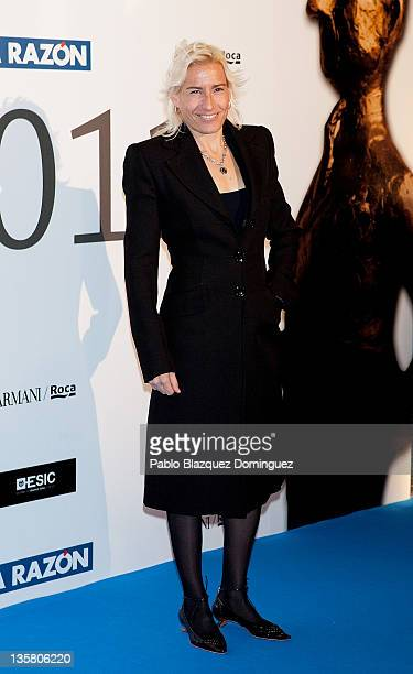 Marta Dominguez attends the 'Alfonso Ussia Awards 2011' at La Razon headquarters on December 14 2011 in Madrid Spain