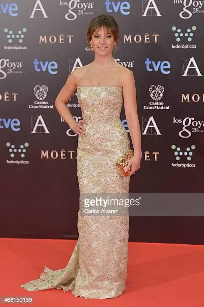 Marta Etura attends Goya Cinema Awards 2014 at Centro de Congresos Principe Felipe on February 9 2014 in Madrid Spain
