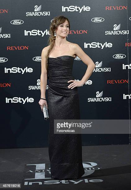 Marta Etura attends the InStyle Magazine 10th anniversary party at Gran Melia Fenix Hotel on October 21 2014 in Madrid Spain