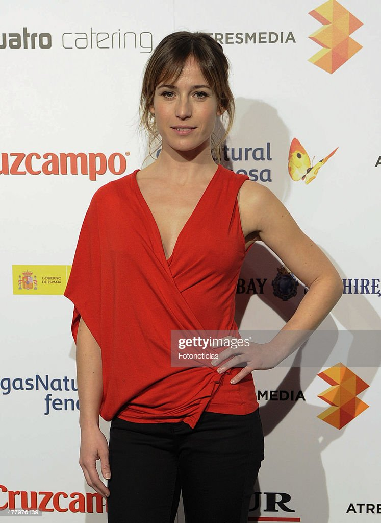 <a gi-track='captionPersonalityLinkClicked' href=/galleries/search?phrase=Marta+Etura&family=editorial&specificpeople=789541 ng-click='$event.stopPropagation()'>Marta Etura</a> attends the Malaga Film Festival cocktail presentation at TClub on March 11, 2014 in Madrid, Spain.