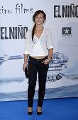 Marta Etura attends the premiere of 'El Nino' at Kinepolis Cinema on August 28 2014 in Madrid Spain