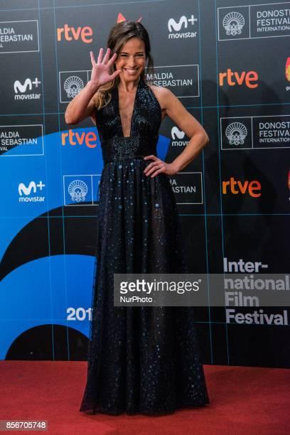 Marta Etura attends the red carpet of the closure gala during 65th San Sebastian Film Festival at Kursaal on September 30 2017 in San Sebastian Spain