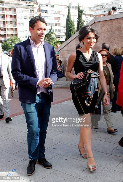 Marta Fernandez attends San Isidro Fair at Las Ventas Bullring on May 29 2014 in Madrid Spain