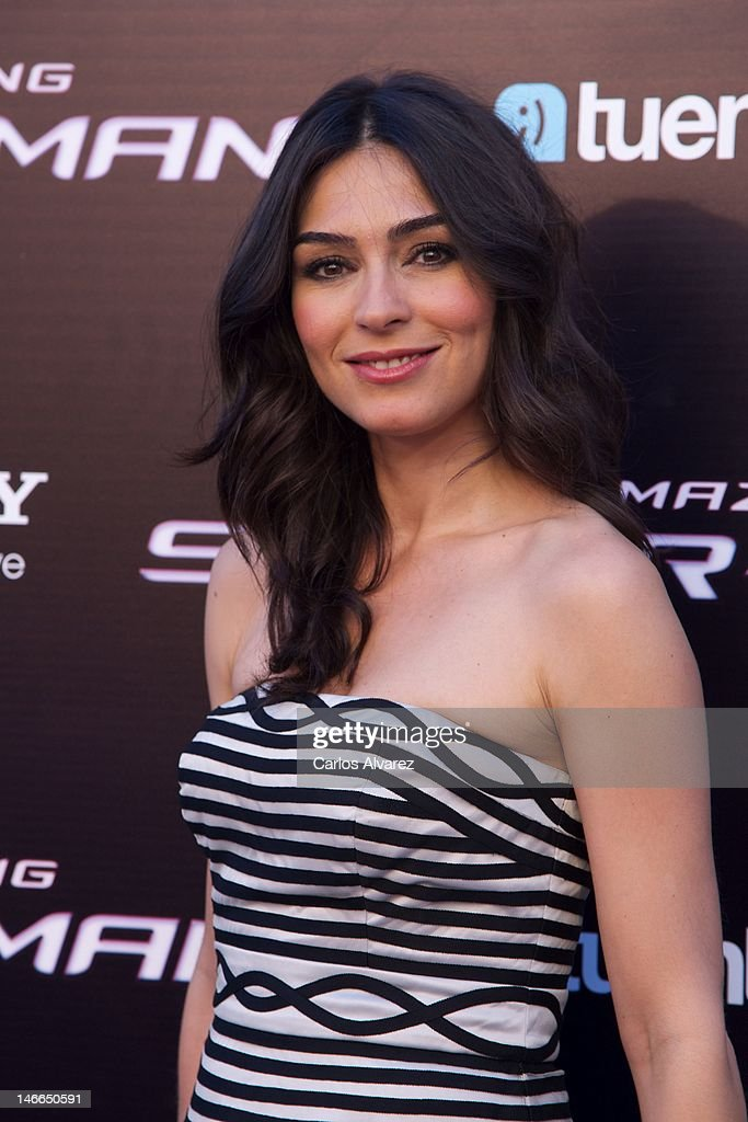 Marta Fernandez attends 'The Amazing Spider-Man' premiere at Callao cinema on June 21, 2012 in Madrid, Spain.