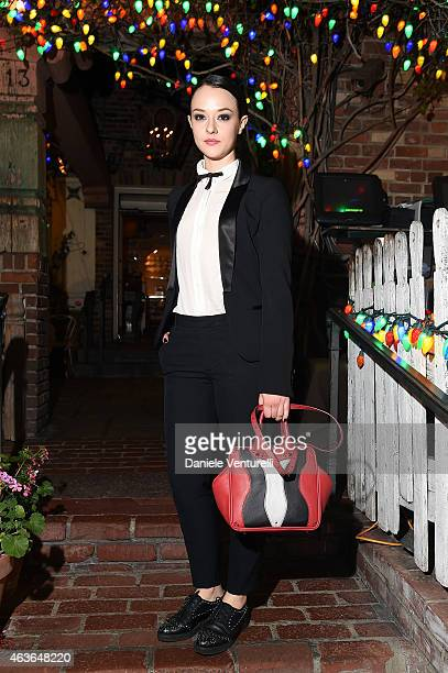 Marta Gastini attends AMBI PICTURES Dinner Party during the Los Angeles Italia on February 16 2015 in Los Angeles California