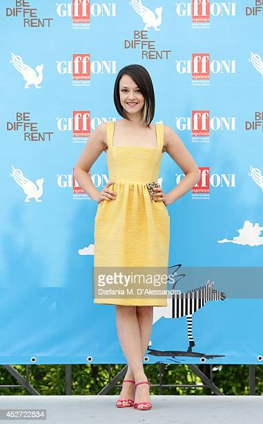 Marta Gastini attends Giffoni Film Festival photocall on July 26 2014 in Giffoni Valle Piana Italy