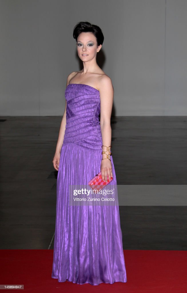 Marta Gastini attends the 2012 Convivio charity gala event on June 7, 2012 in Milan, Italy.