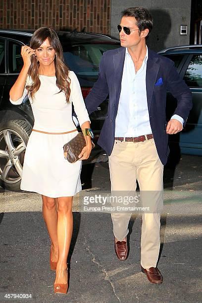 Marta Gonzalez and Curi Gallardo attend Marta Gonzalez's birthday party on October 25 2014 in Madrid Spain