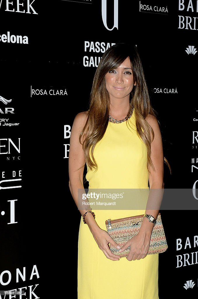 Marta Gonzalez attends the Rosa Clara fashion show during 'Barcelona Bridal Week 2014' on May 6, 2014 in Barcelona, Spain.