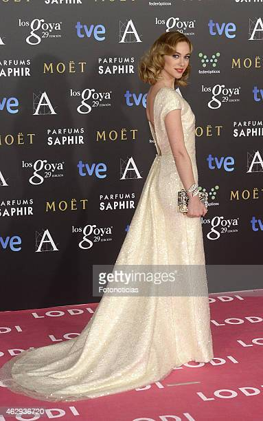 Marta Hazas attends Goya Cinema Awards 2015 at Centro de Congresos Principe Felipe on February 7 2015 in Madrid Spain