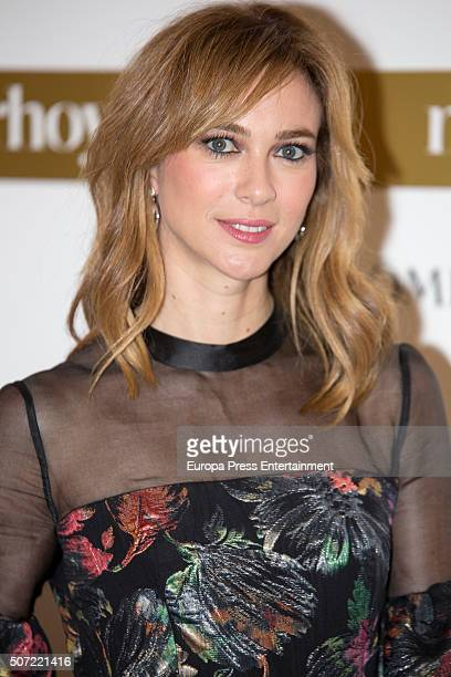 Marta Hazas attends 'Mujer Hoy' Awards 2016 on January 27 2016 in Madrid Spain