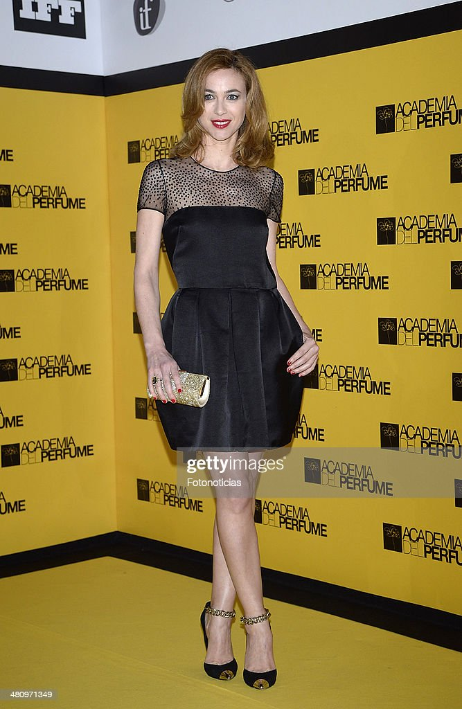 <a gi-track='captionPersonalityLinkClicked' href=/galleries/search?phrase=Marta+Hazas&family=editorial&specificpeople=5133615 ng-click='$event.stopPropagation()'>Marta Hazas</a> attends the 2014 Perfume Academy awards at Casa de America on March 27, 2014 in Madrid, Spain.