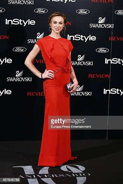 Marta Hazas attends the InStyle Magazine 10th anniversary party on October 21 2014 in Madrid Spain