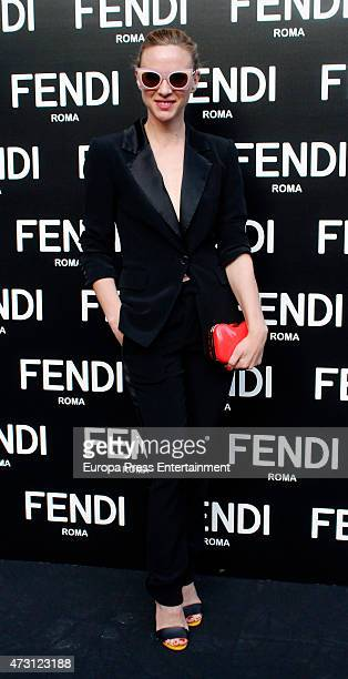 Marta Hazas attends the launch of the Fendi New Eyewear Collection on May 12 2015 in Madrid Spain