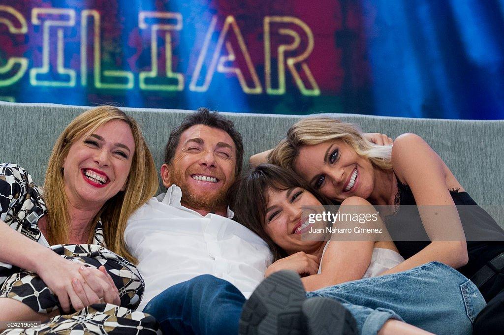 Amaia Salamanca And Ursula Corbero Attend 'El Hormiguerto' Tv Show
