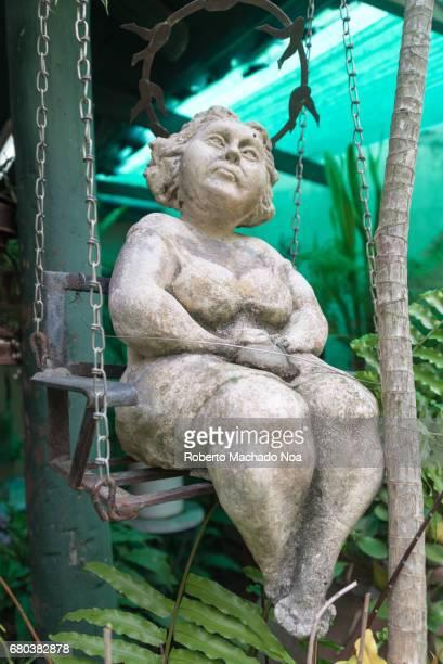 Marta Jimenez sculptures decorating her studio Martha Petrona Jiménez is a Cuban artist working in sculpture ceramics and painting Her atelier is in...