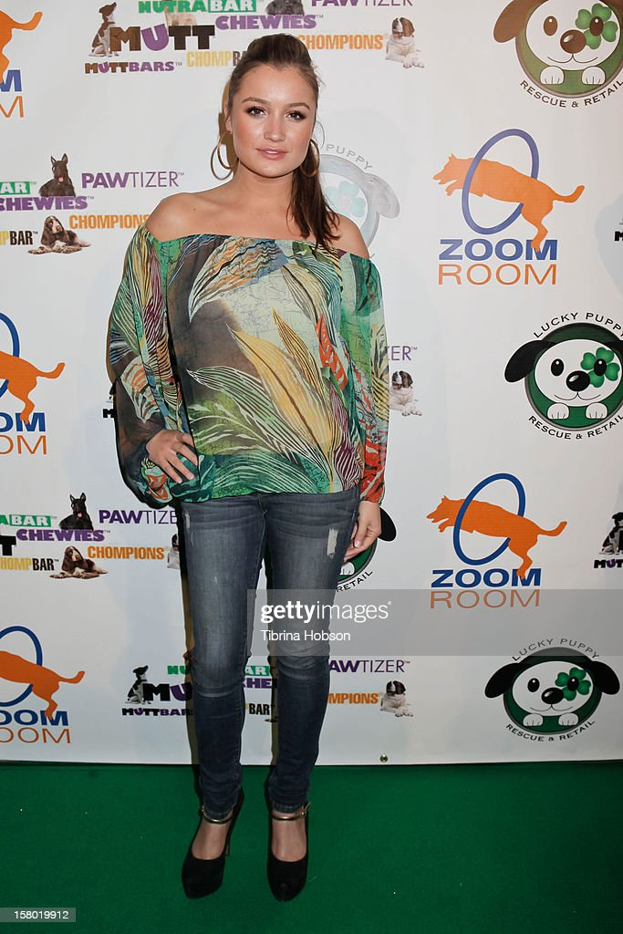 Marta Krupa attends the Lucky Puppy Rescue and Retail grand opening on December 8, 2012 at Lucky Puppy Rescue in Studio City, California.