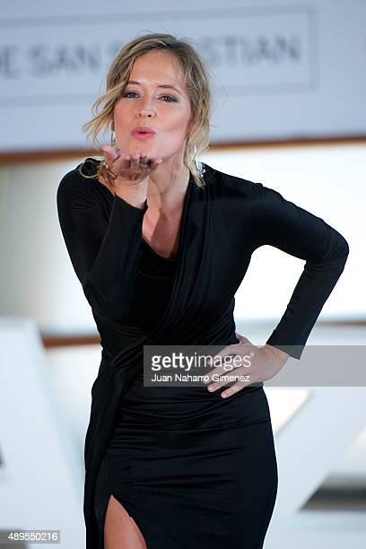 Marta Larralde attends 'El Apostata' photocall during 63rd San Sebastian Film Festival on September 22 2015 in San Sebastian Spain