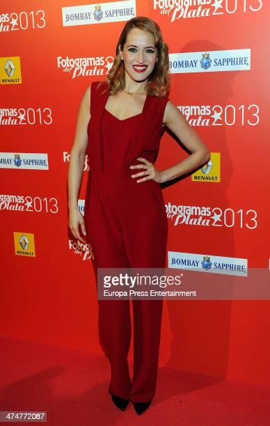 Marta Larralde attends Fotogramas Awards 2013 at Joy Eslava Club on February 24 2014 in Madrid Spain
