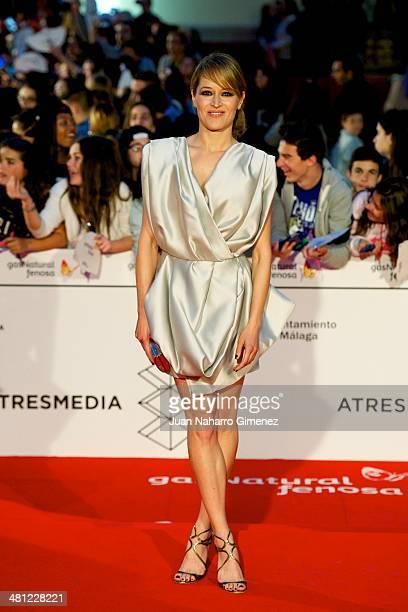 Marta Larralde attends 'La Vida Inesperada' premiere during the 17th Malaga Film Festival 2014 at Teatro Cervantes on March 28 2014 in Malaga Spain