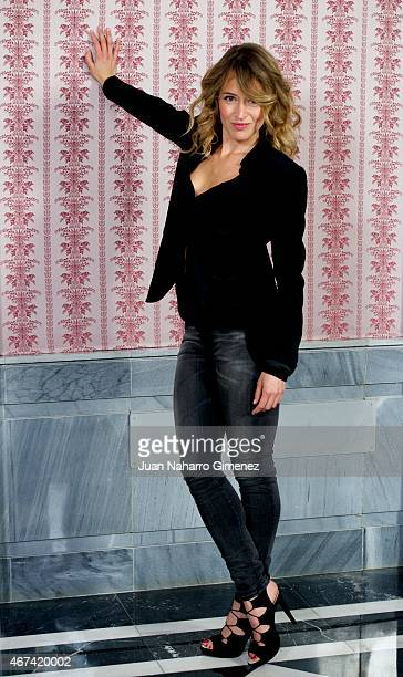 Marta Larralde attends 'Seis Hermanas' photocall during FesTVal Murcia 2015 on March 24 2015 in Murcia Spain