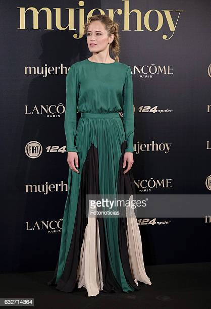 Marta Larralde attends the 2016 'Mujer Hoy' awards ceremony at the Casino de Madrid on January 25 2017 in Madrid Spain
