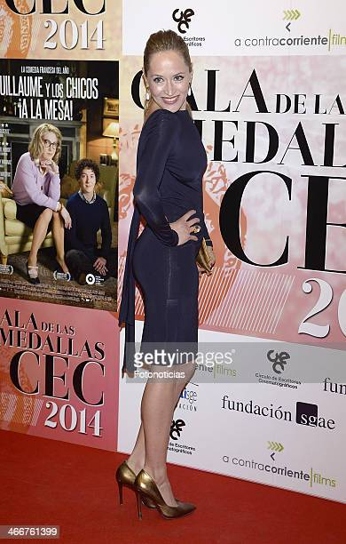 Marta Larralde attends the 'CEC' medals 2014 ceremony at the Palafox cinema on February 3 2014 in Madrid Spain