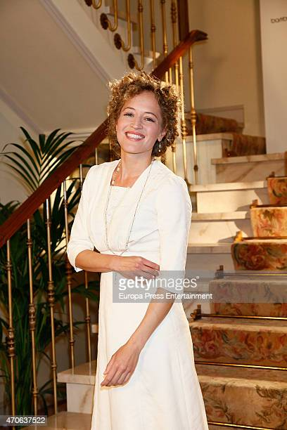 Marta Larralde attends the presentation of 'Seis Hermanas' Tv serie on April 21 2015 in Madrid Spain