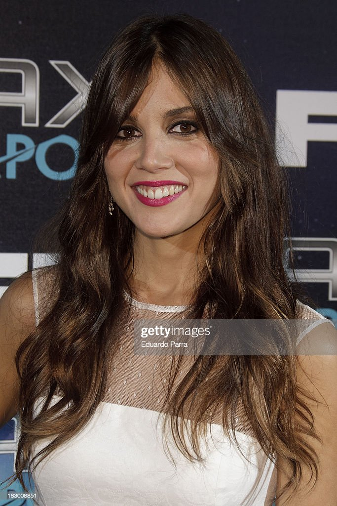 Marta Marquez attends '100 sexiest women in the world' party photocall at OUI Madrid on October 3, 2013 in Madrid, Spain.