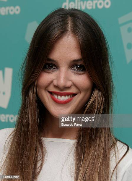 Marta Marquez attends the Deliveroo aniversary party photocall at Circulo de Bellas Artes on October 20 2016 in Madrid Spain
