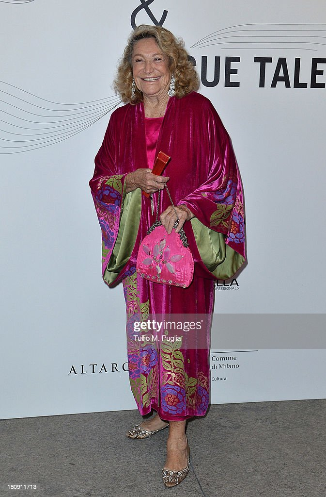 Marta Marzotto attends 'Who is On Next? & Vogue Talents' event at Palazzo Morando on September 17, 2013 in Milan, Italy.