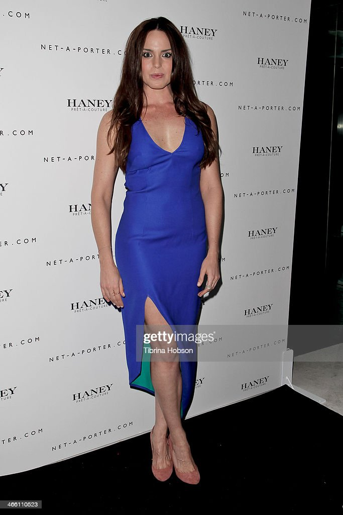 Marta Milans attends the Haney Pret-A-Couture launch hosted by Net-A-Porter at mmhhmmm at The Standard, Hollywood on January 30, 2014 in West Hollywood, California.