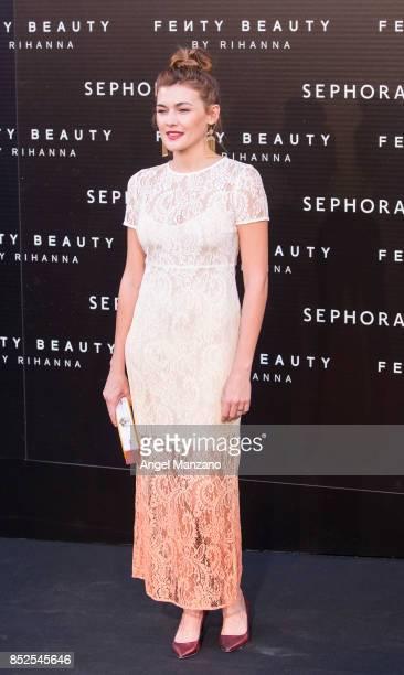 Marta Nieto attends Rihanna Fenty Beauty Presentation in Madrid on September 23 2017 in Madrid Spain