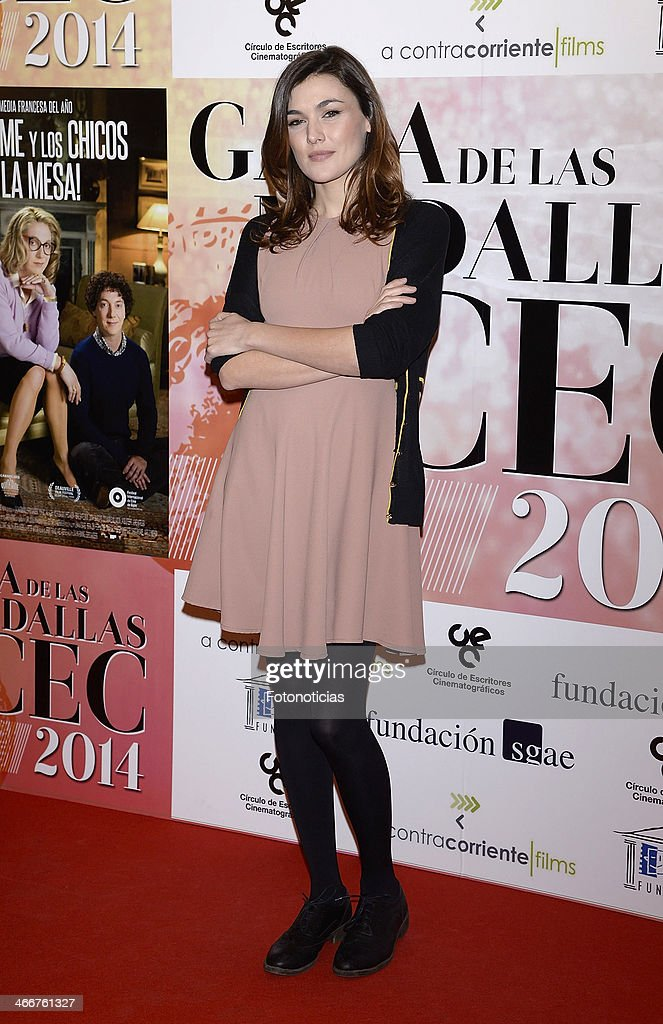 Marta Nieto attends the 'CEC' medals 2014 ceremony at the Palafox cinema on February 3, 2014 in Madrid, Spain.