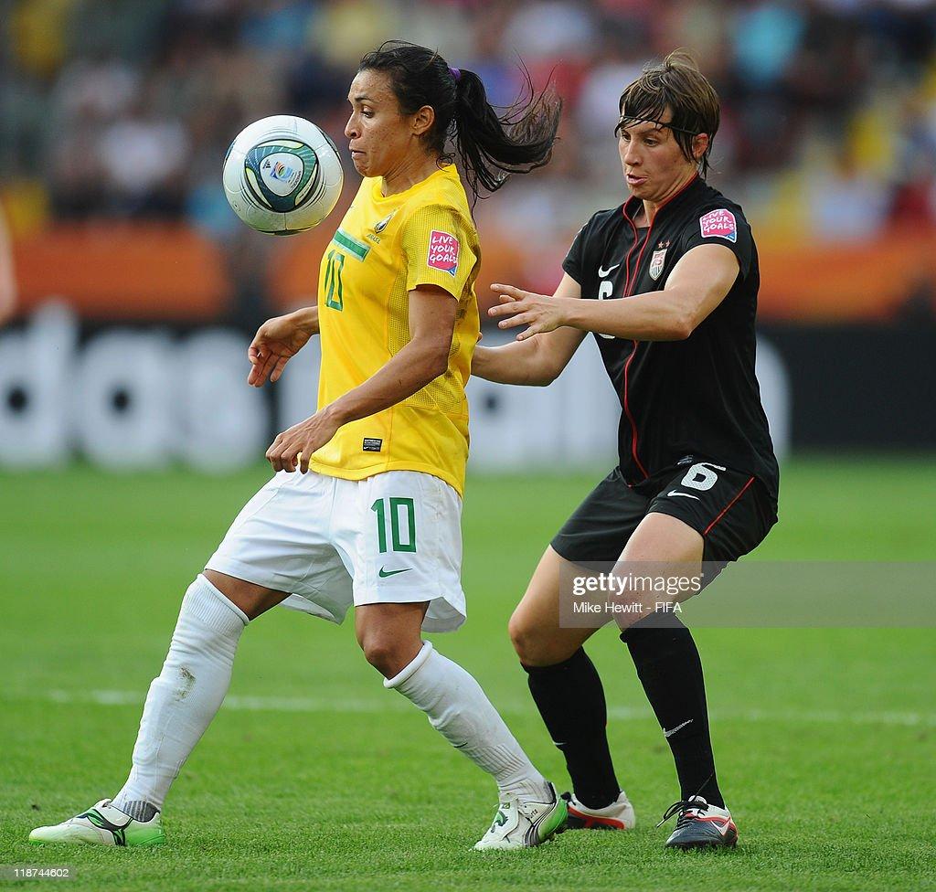 Brazil v USA: FIFA Women's World Cup 2011 - Quarter Finals