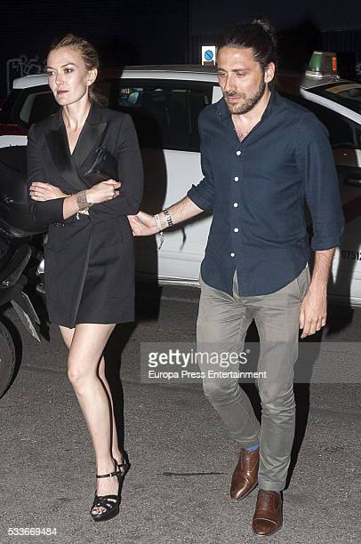 Marta Ortega and Carlos Torretta are seen on May 20 2016 in Madrid Spain