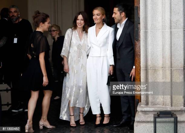 Marta Ortega and Carlos Torretta attend Massimo Dutti fashion show on May 31 2017 in Madrid Spain